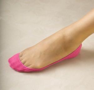 klassischer rosa Füßlinge